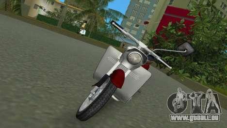 Jawa Type 20 Moped pour une vue GTA Vice City de la gauche