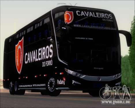 Marcopolo Paradiso G7 1600LD Scania K420 für GTA San Andreas obere Ansicht