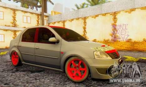Dacia Logan Turkey Tuning für GTA San Andreas