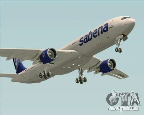Airbus A330-300 Sabena für GTA San Andreas Motor