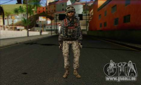 Task Force 141 (CoD: MW 2) Skin 4 pour GTA San Andreas