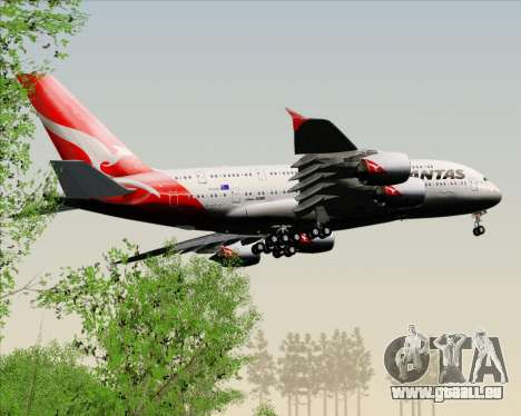 Airbus A380-841 Qantas pour GTA San Andreas salon