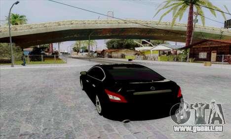 Nissan Maxima pour GTA San Andreas sur la vue arrière gauche