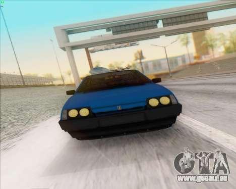 ВАЗ 2109 à Faible Classique pour GTA San Andreas vue arrière