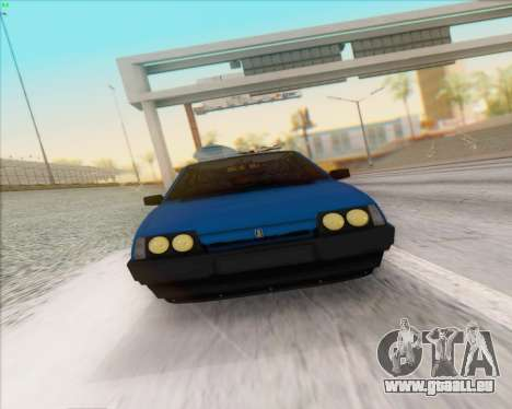 ВАЗ 2109 Niedrigen Classic für GTA San Andreas Rückansicht