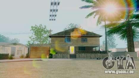 Neue Texturen Häuser auf der grove street für GTA San Andreas zweiten Screenshot
