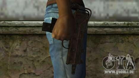 TheCrazyGamer Mac 10 für GTA San Andreas dritten Screenshot