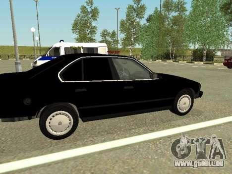 BMW 520i e34 pour GTA San Andreas vue de droite
