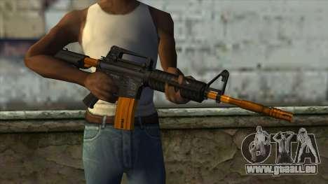Nitro M4 für GTA San Andreas dritten Screenshot