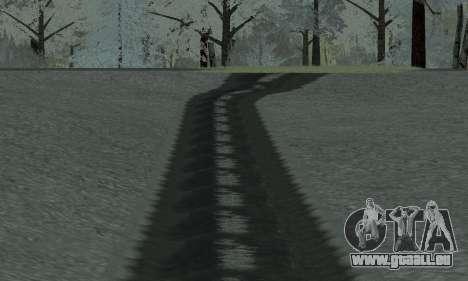 De la neige pour GTA Pénale de la Russie bêta 2 pour GTA San Andreas sixième écran