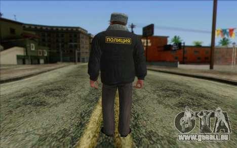 La Police Dans la Peau 2 pour GTA San Andreas deuxième écran