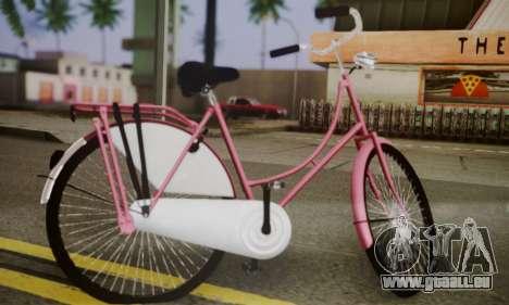 Amsterdam-Bike für GTA San Andreas linke Ansicht