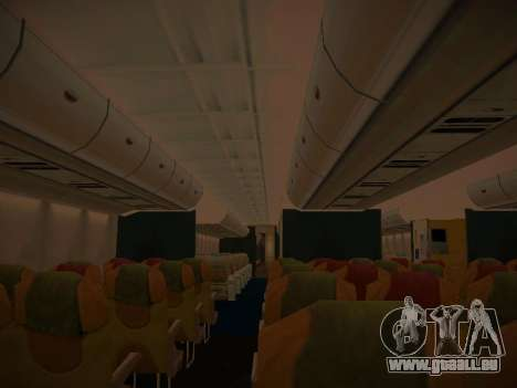 Airbus A380-800 Malaysia Airlines pour GTA San Andreas roue
