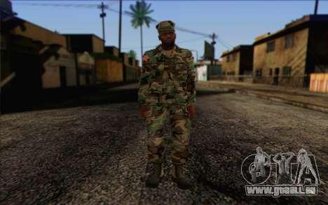 California National Guard Skin 3 pour GTA San Andreas