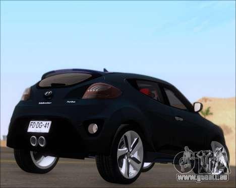 Hyundai Veloster 2013 für GTA San Andreas rechten Ansicht