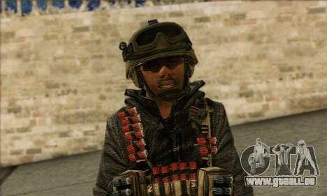 Task Force 141 (CoD: MW 2) Skin 16 für GTA San Andreas dritten Screenshot