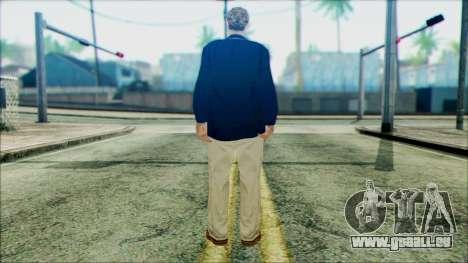 Rosenberg from Beta Version pour GTA San Andreas deuxième écran