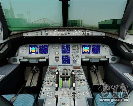 Airbus A321-231 Spanair für GTA San Andreas Innen
