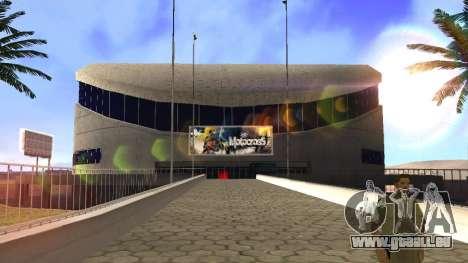 HD-Texturen-Stadion in Las Venturas für GTA San Andreas fünften Screenshot
