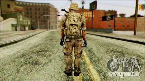 Fighter (PLA) v3 pour GTA San Andreas deuxième écran