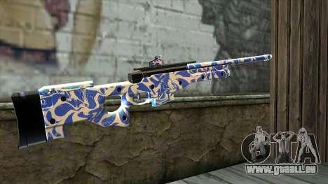 Graffiti Rifle für GTA San Andreas zweiten Screenshot