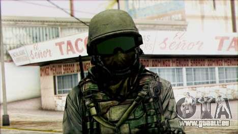 Kämpfer (PLA) v5 für GTA San Andreas dritten Screenshot