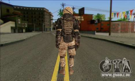 Task Force 141 (CoD: MW 2) Skin 15 für GTA San Andreas zweiten Screenshot