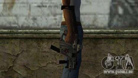 Kriss Super from PointBlank v2 pour GTA San Andreas troisième écran