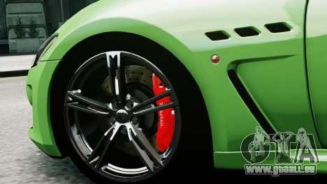 Maserati Gran Turismo MC Stradale 2014 für GTA 4 hinten links Ansicht