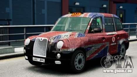 London Taxi Cab v2 für GTA 4