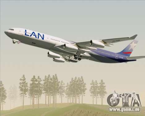 Airbus A340-313 LAN Airlines für GTA San Andreas Motor