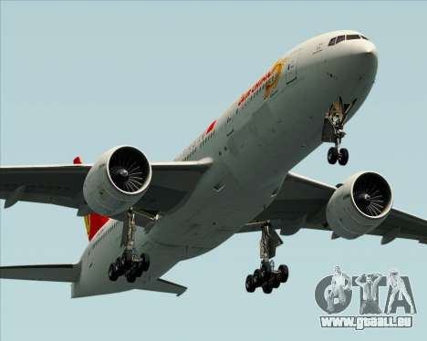 Boeing 777-200ER Air China für GTA San Andreas Räder