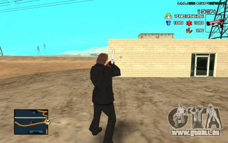 C-HUD by SampHack v.11 für GTA San Andreas dritten Screenshot
