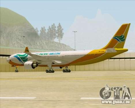 Airbus A330-300 Cebu Pacific Air pour GTA San Andreas vue arrière