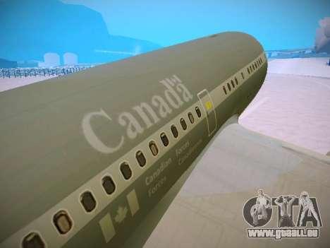 Canadian Forces Airbus CC150 Polaris pour GTA San Andreas moteur