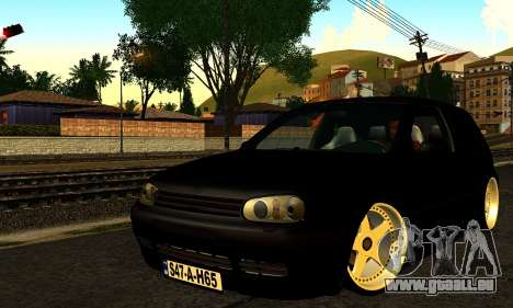 Volkswagen Golf IV pour GTA San Andreas