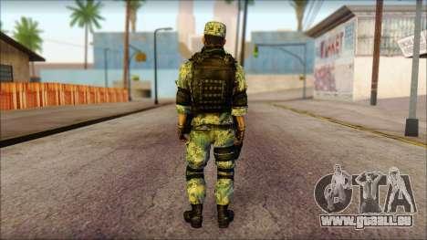 MG from PLA v1 pour GTA San Andreas deuxième écran