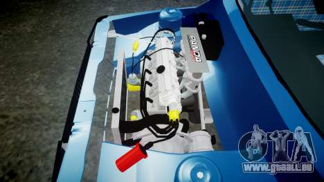 Fiat 147 Spazio-TR pour GTA 4 est une vue de l'intérieur