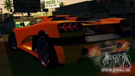 GTA 5 Entity XF pour GTA San Andreas laissé vue