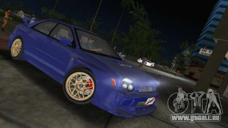 Subaru Impreza WRX 2002 Type 2 für GTA Vice City