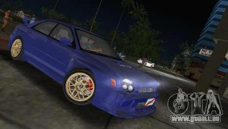 Subaru Impreza WRX 2002 Type 2 für GTA Vice City