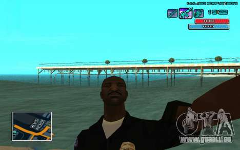 C-HUD par WH édité Mr_Zlo pour GTA San Andreas deuxième écran