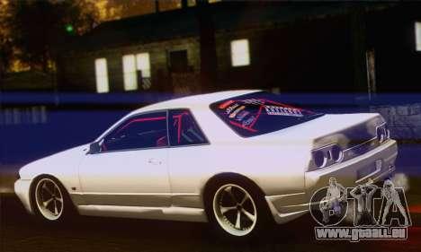 Nissan Skyline R32 Drift Monster Energy pour GTA San Andreas laissé vue
