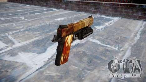 Gun Kimber 1911 Elite für GTA 4 Sekunden Bildschirm