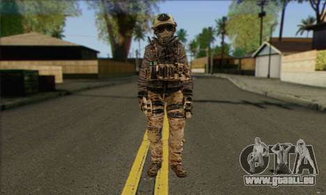 Task Force 141 (CoD: MW 2) Skin 13 pour GTA San Andreas