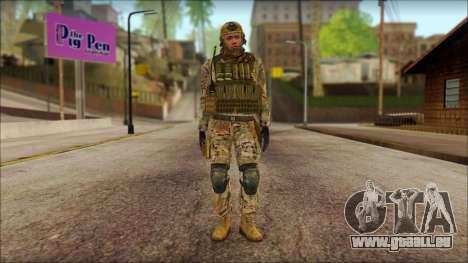 USA Soldier v2 für GTA San Andreas