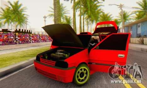 Dacia Super Nova Tuning pour GTA San Andreas vue arrière