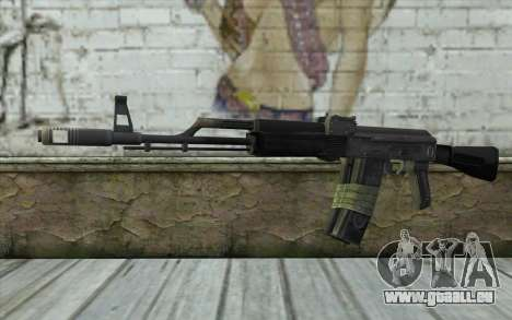 AK-101 from Battlefield 2 pour GTA San Andreas