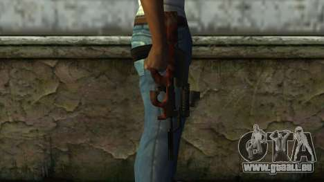P90 from PointBlank v3 pour GTA San Andreas troisième écran