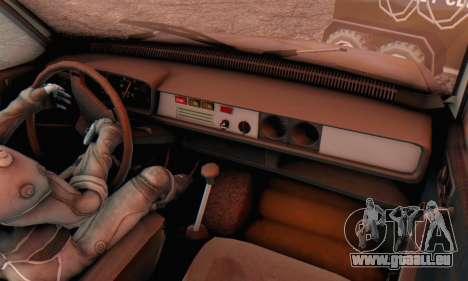 Dacia 1310 MLS Rusty Edition 1988 für GTA San Andreas Rückansicht